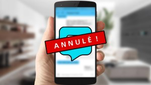 annuler sms textra envoyé envoyer
