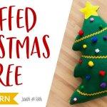 Stuffed Christmas Tree Sewing Pattern On Scratchandstitch Com