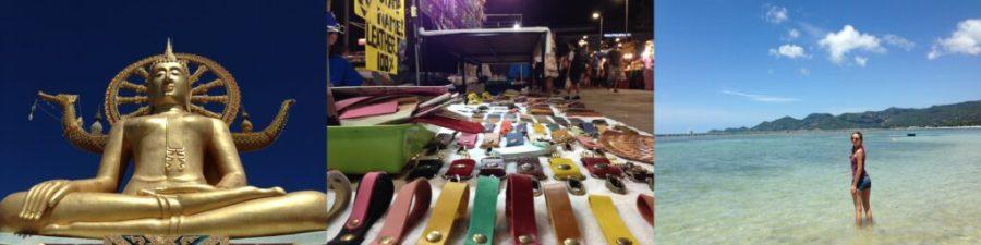 Big Buddha - avondmarkt bij shoppingcenter - Shaweng Beach