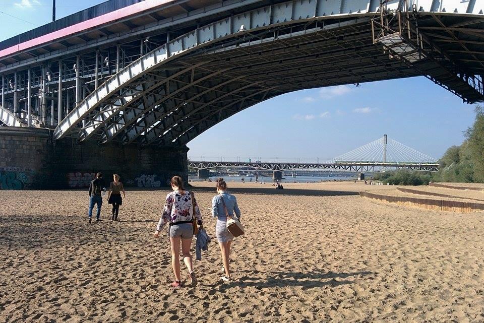 Warsaw beach