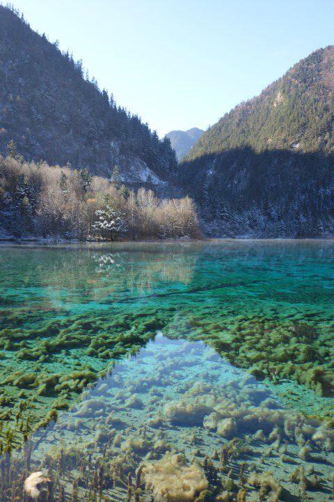 jiuzaighou-five-flower-lake