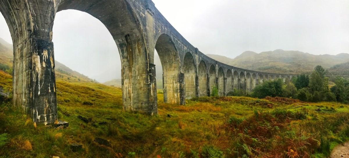 Hoe kom je bij het Glenfinnan Viaduct?