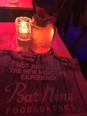 Bar Nine Leuven cocktrail