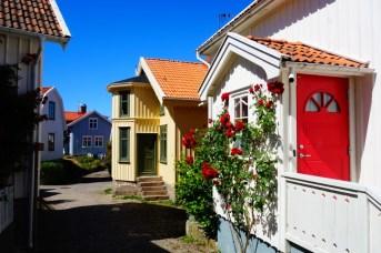 Roadtrip Zweden Fiskebackskil dorp