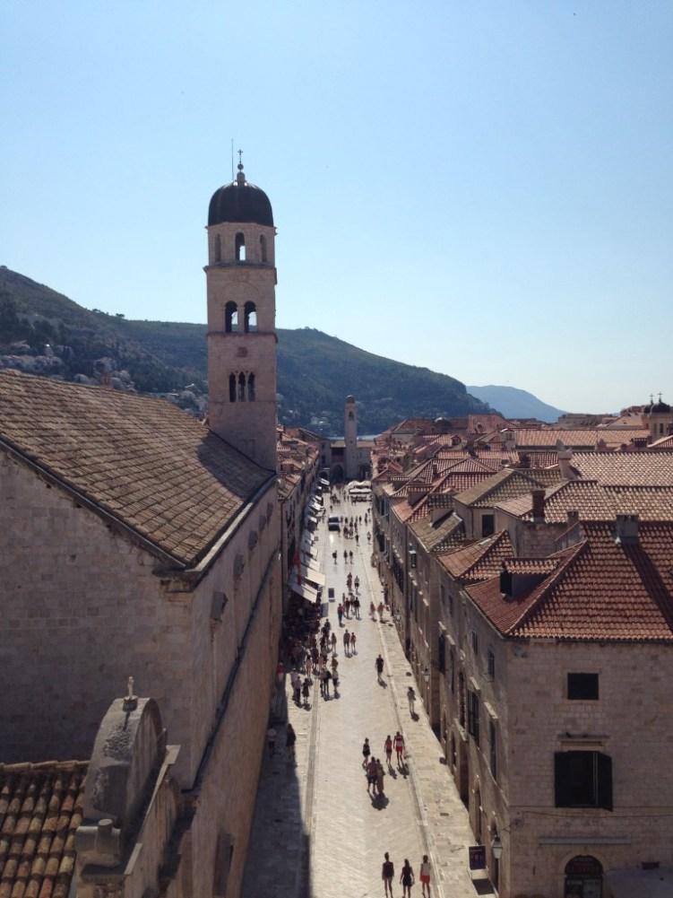 Route Kroatië Dubrovnik