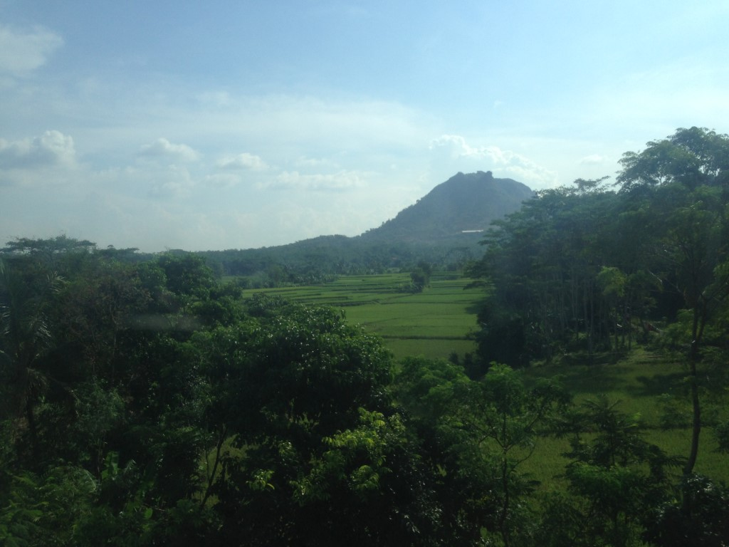 Indonesie Trein naar Bandung 2