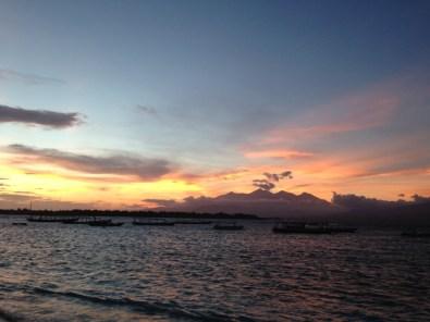 Route Indonesie Gili Trawangan sunrise 1
