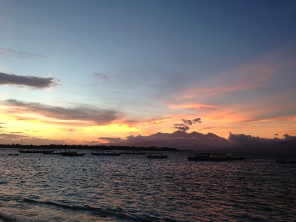 Route Indonesie Gili Trawangan sunrise 1