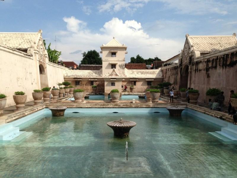 Route Indonesie Yogyakarta Water Castle 2