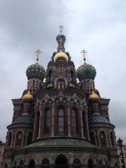 Rusland St Petersburg Church on Spilled Blood