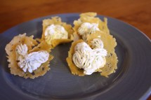 Parmesan Cheese Crackers Crisp