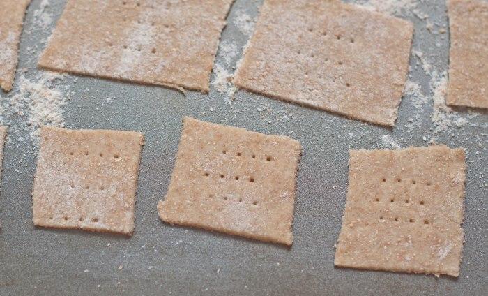 Spelt Crackers from Scratch