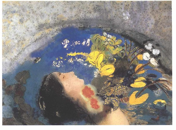 Odilon_Redon_-_Ophelia Dian Woodner Collection