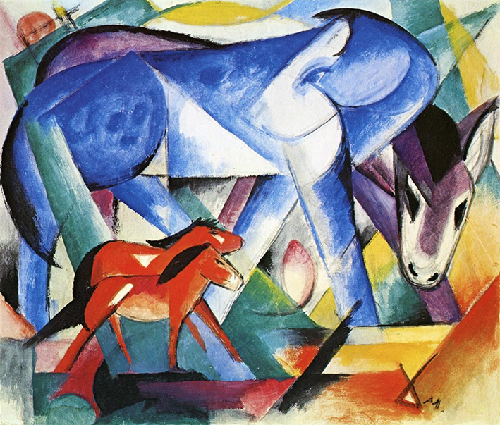 Franz_Marc_The_First_Animals