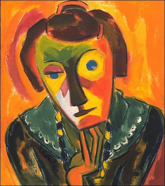 schmidt_rottluff_portrait-of-emy-1919