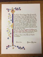Bergsveinn Hondbrotna - Order of the Silver Tyger