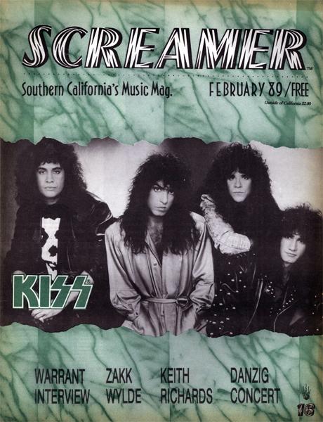 Screamer Magazine February 1989