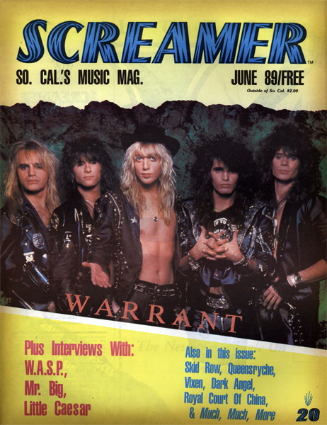 Screamer Magazine June 1989