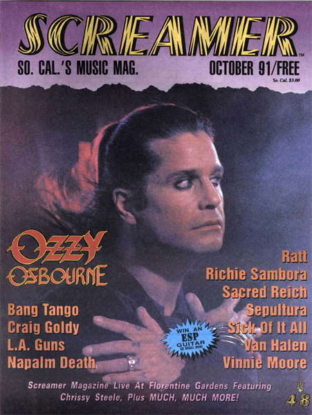 Screamer Magazine October 1991