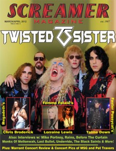 Screamer Magazine March/April 2012