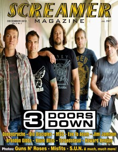 Cover 3 Doors Down Dec 2012 medium