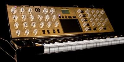 Moog Music 24 Karat Goldd Minimoog