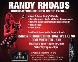 Randy Rhoads Birthday