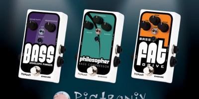 Pigtronix Bass pedals