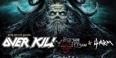 Testament and Overkill Tour Admat