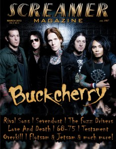 Screamer Magazine March 2013