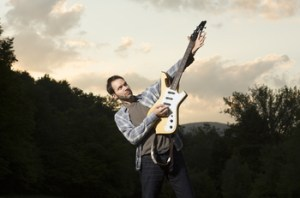 Paul Gilbert - Photo By Michael Bloom