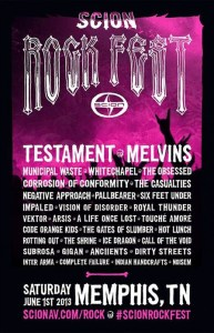 scion rockfest 2013
