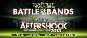 Ernie ball battle of the bands aftershook