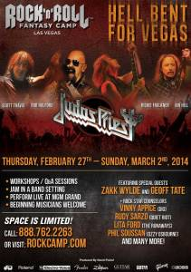 Judas Priest - Rock n Roll Fantasy Camp