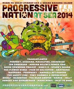 Progressive Nation at Sea 2014