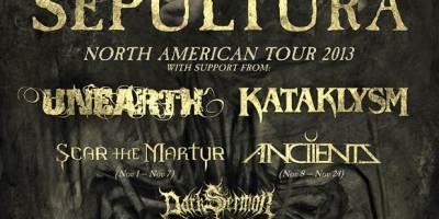 Sepultura - Kataklysm tour