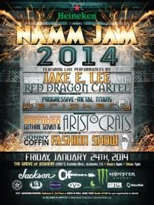 NAMM Jam Poster