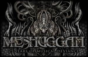 Meshuggah 25 years of musical deviance