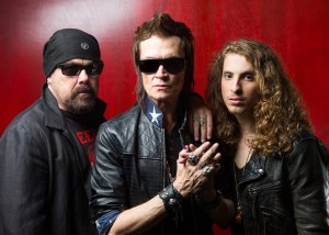 California Breed: L to R Jason Bonham, Glenn Hughes, Andrew Watt