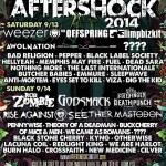 MONSTER AFTERSHOCK FESTIVAL 5-29-14