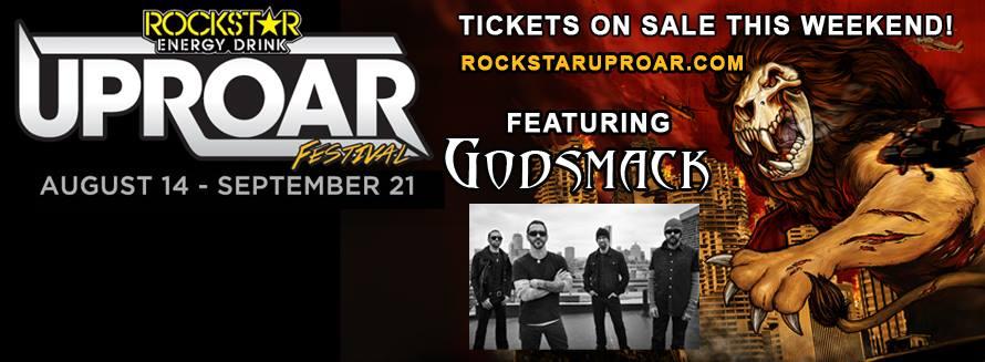 Godsmack Uproar 6-17-14