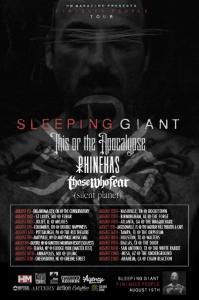 Sleeping Giant poster