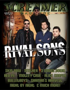 Screamer Magazine August 2014