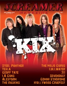 Screamer Magazine September 2014