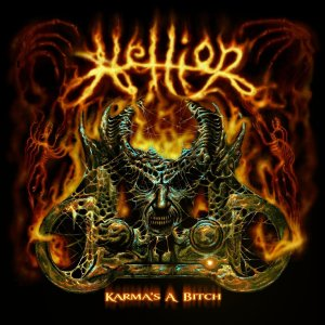 Hellion - Karmas A Bitch