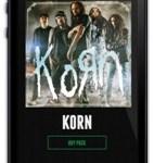 KORN Promo iPhone 10-7-14