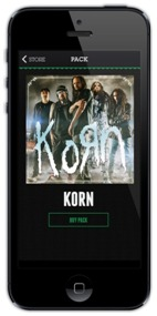 KORN Promo iPhone 10-7-14