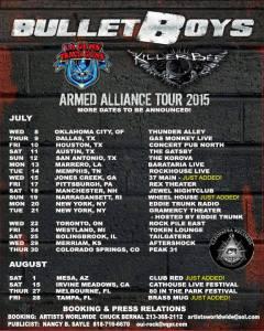 BULLET BOYS TOUR POSTER 6-23-15