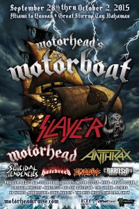 MOTORHEAD CRUISE 2015 6-9-15