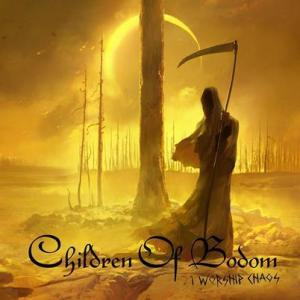 CHIDLREN OF BODOM CD ART CHAOS 7-27-15